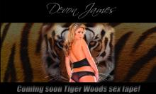 Devon James Tiger Woods Sex Tape Website