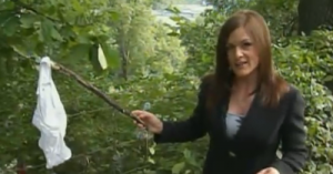 News Reporter Finds Panties in Ohio