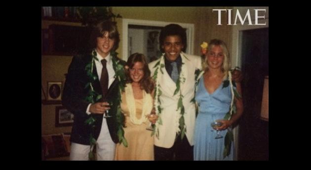 Obama Prom Date